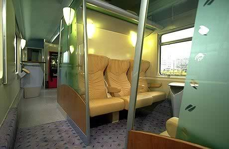 Ночные поезда состоят, как правило, из трех типов вагонов.  Сидячие вагоны в ночных поездах бывают обычно только...