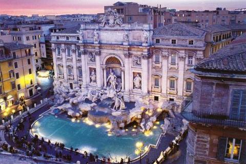 Картинки по запросу trevi fountain